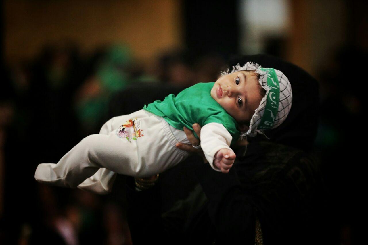 همایش شیرخوارگان حسینیه اعظم زنجان ۱۳۹۷ از دریچه دوربین