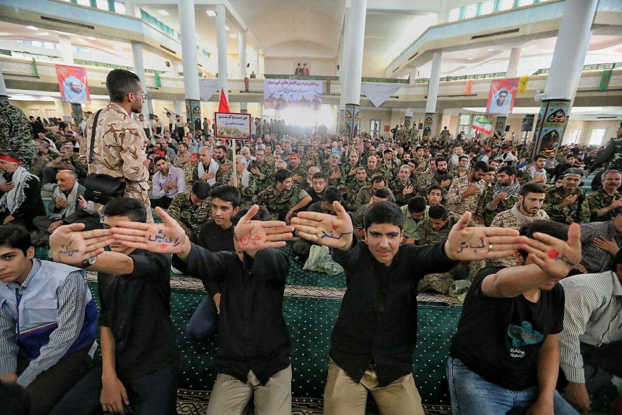 گزارش تصویری اجتماع بزرگ اقتدار عاشورایی بسیج سپاهیان حضرت محمد (ص) در مصلی خاتم الانبیاء زنجان